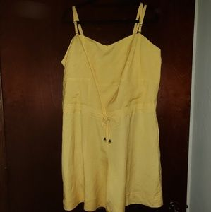 Other - Canary yellow romper